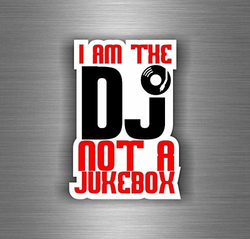 Akachafactory Aufkleber Sticker Auto Motorrad Biker Not Jukebox DJ Offiziellen Platin Musik