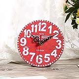 Zoom IMG-1 nannday orologio rotondo in legno