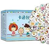 Ahagut Tiritas Infantiles Autoadhesivas Impermeables 120 Piezas tiritas Venda Adhesiva hemostática para niños