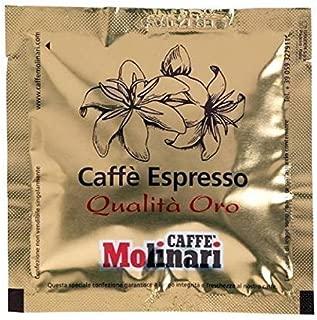Caffe' Molinari 150 ESE Espresso Paper Pods from Modena Italy