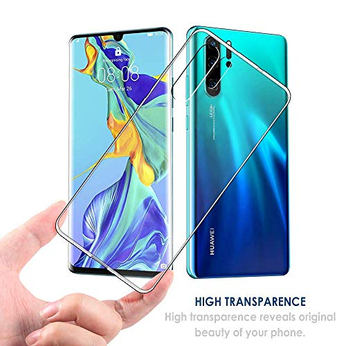 Seomusen Handyhülle Kompatibel mit Huawei P30 Pro Durchsichtige,TPU Transparent Huawei P30 Pro Hülle,Neueste Staubdichtes Design Crystal Klar TPU Case Backcover Schutzhülle für Huawei P30 Pro - 5