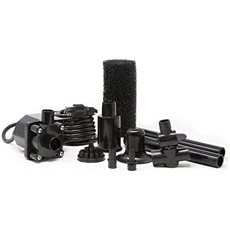 Beckett Corporation 500 GPH Submersible Pond Water Pump Kit with Prefilter an...