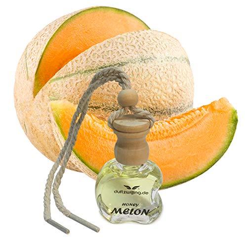 MEGA Autoparfüm GERUCH DER ECHTEN HONIGMELONE Autoduft Parfum Öl natürlich Anhänger-Flasche Düftöl Lufterfrischer Duft für Auto (MELON)