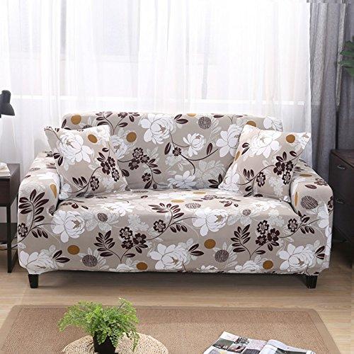 Funda de sofá, tamaño universal, funda de sofá de 1/2/3/4 plazas, elástica, fundas de sofá, fundas de almohada, decoración del hogar para sofás (color 5846, especificación: AB 185 230 cm)