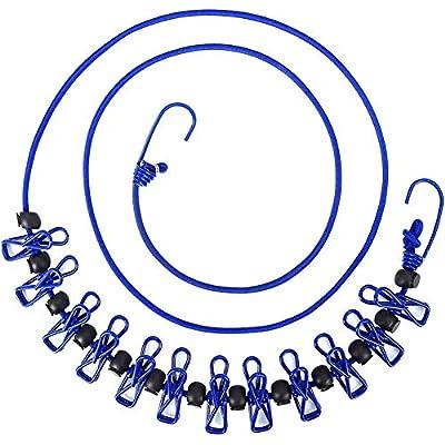 TYONMUJO Portable Clothesline Clothes Line Rope...