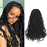 Tiana passion Twist Hair 20 inch Pre-twisted Passion Twist Hair 7 packs Passion Twist Ombre Crochet Hair Pre-looped Crochet Braids Synthetic Braiding Hair Extensions (7Pcs, 4#)