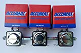 Accumax Solenoids set of 3 with Coupling Nuts Included for Low Rider & More USA MADE