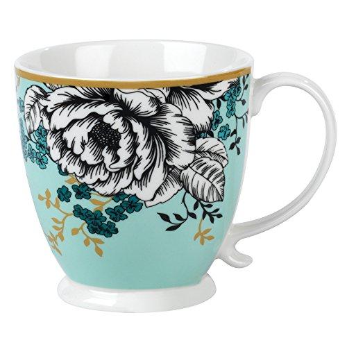 Cambridge Cm05451 Kensington Albany Bleu Canard Mug en Porcelaine, Multicolore