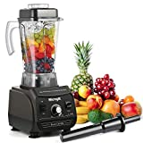 Professional Blender MengK 1500W Peak Horsepower Electric High Speed Blenders for Making Smoothies Total Nutrition Blender and Food Processor Combo with 67oz BPA-Free Pitcher (CB606)