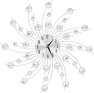 vidaXL Reloj Pared Moderno Diseño Rayos Sol Original Decorar Salón Cocina Baño