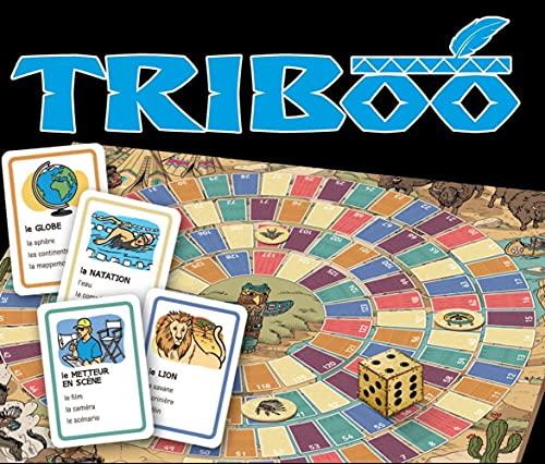 Triboo. Gamebox mit 132 Karten, Spielplan + Download: Le Français en s'amusant. Gamebox mit 132 Karten, Spielplan + Download