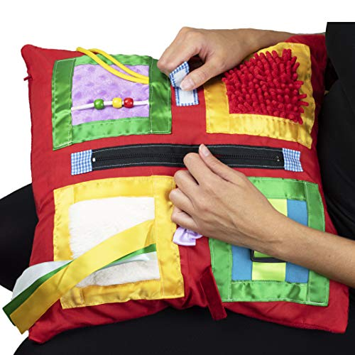 Fidget Blanket- Fidget Pillowcase Cover for Those Suffering from Memory Loss and Dementia, by...