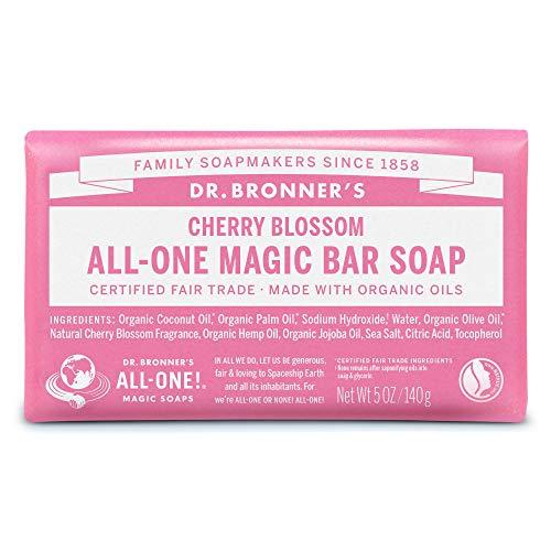 ネイチャーズウェイ ドクターブロナー マジックソープバー magic soap 石鹸 チェリーブロッサム 140g ネイチャーズウェイ