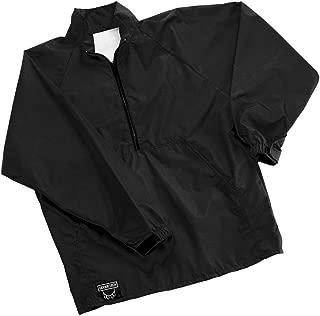 Udder Tech Waterproof Jacket, Medium, Half Zip, Black