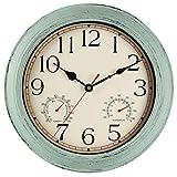 Best Outdoor Clocks - KECYET 14 Inch Large Indoor Outdoor Wall Clock Review
