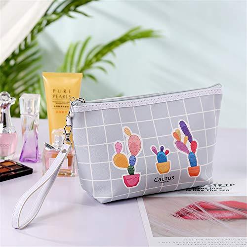 Mijogo Make-up tassen grappig reis-cosmeticatas-organizer borstel-tas toiletartikelen waszak multifunctionele draagbare tas met ritssluiting vakantie, badkamer