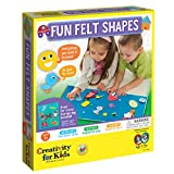 Faber-Castell Creativity for Kids My First Fun Felt Shapes - Travel Friendly Felt Board for Toddlers (Imaginative Pretend Play for Kids, 100+Piece), Multi (1274000)