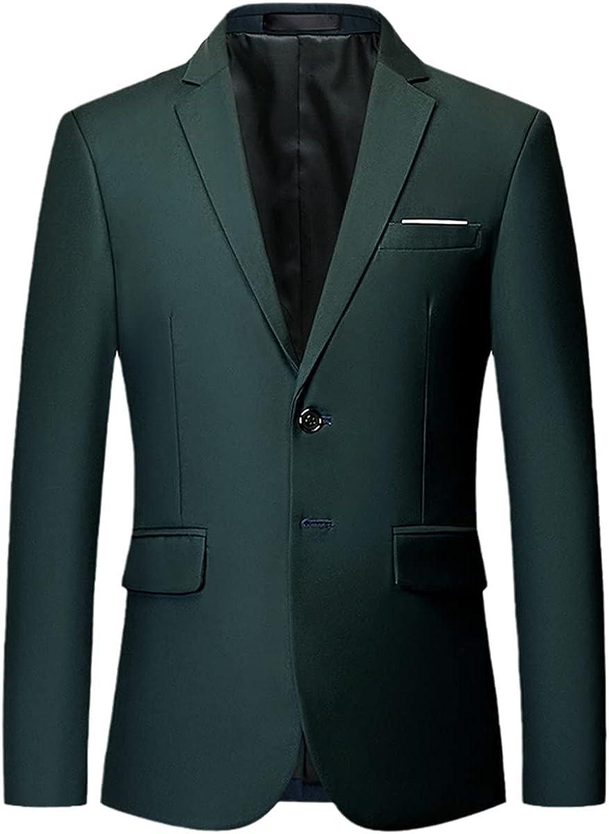 Classic Men's Suit Suit high-end Custom Pure Color Slim Business Dress Groom Wedding Dress tuxedo/2Pcs