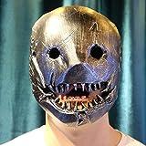 XWYZY Máscara de Halloween Juego de Cosplay Máscaras de cabeza de casco Props Resina Halloween Máscara
