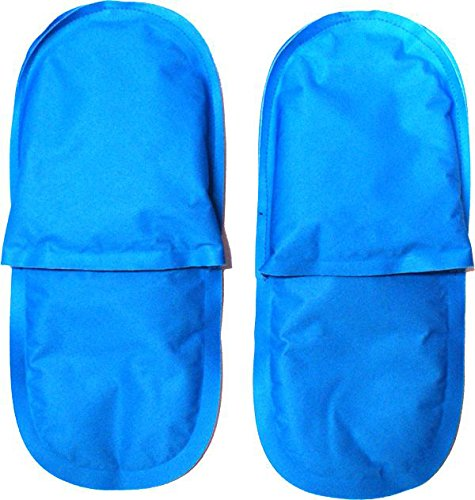 Rapid Relief Cold Therapy Slippers for Tired and Swollen feet, hot feet, Relief from Neuropathy Pain Caused by Diabetes and Chemotherapy. One Size fits Most.
