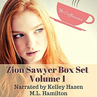 The Zion Sawyer Cozy Mystery Box Set audiobook cover art