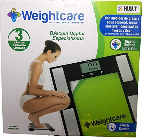Bascula con Monitor de Indice de masa corporal, Indice Oseo, Indice Muscular e Indice de Hidratacion mas 1 cubre bocas lavable, reutilizable high performance Gratis