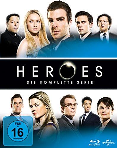 Heroes - Gesamtbox/Season 1-4 [Blu-ray]