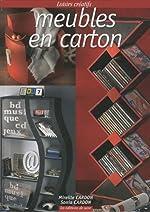 Meubles en carton de Mireille Cardon