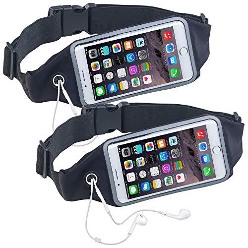 Xcase 2 Ceintures Running élastiques spécial Smartphone - Jusquà 6,2