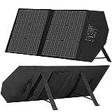 ALLWIN Paquete Plegable Solar Portátil De 40 W, Almacenamiento De Energía, Compatible con Panel Solar De Doble USB De 18 V, Célula Fotovoltaica De Silicio Monocristalino
