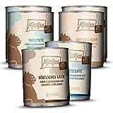 MjAMjAM - Premium Nassfutter für Katzen - Mixpaket 5 - Purer Fleischgenuss, 6er Pack (6 x 800 g), getreidefrei mit extra viel Fleisch, 1108M7