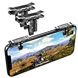 Mobile Game Triggers, Norhu Mobile Game Controllers for PUBG Mobile,Fortnite Mobile Phone Gaming Triggers Sensitive Shoot and Aim Buttons Shooter Handgrip Compatible with Android & iPhone- 1Pair(L1R1)