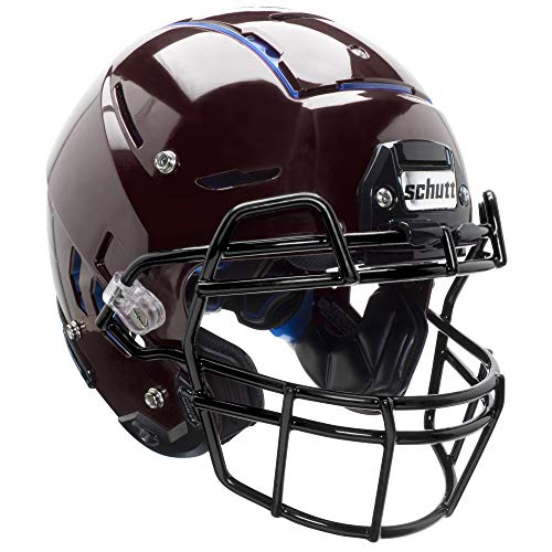 Schutt F7 Professional Youth Football Helmet (Facemask NOT Included), Maroon, Small