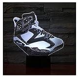Les chaussures Veilleuse 3D USB 7 Couleurs Changeantes LED Décoration de bureau lumières