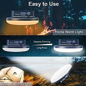 22000mAh Torche Lampe de Poche LED Lampe de Poche Ultra Lumineuse, 2000 Lumens Lampe Torche Tactique Rechargeable pour le Camping, la Randonnée et les Urgences
