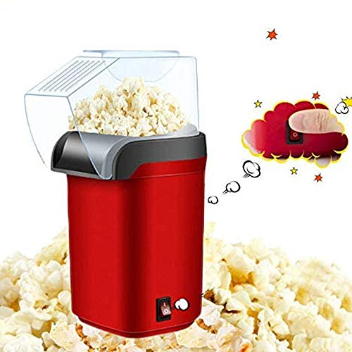 Read About Mini DIY Household Popcorn Machine No Oil Popcorn Maker with Measuring Cup and Removable ...