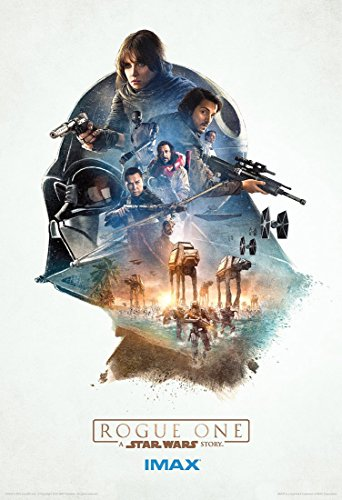 Rogue One A Star Wars Story IMAX 13x19 Original Promotional Movie Poster 2016 - B