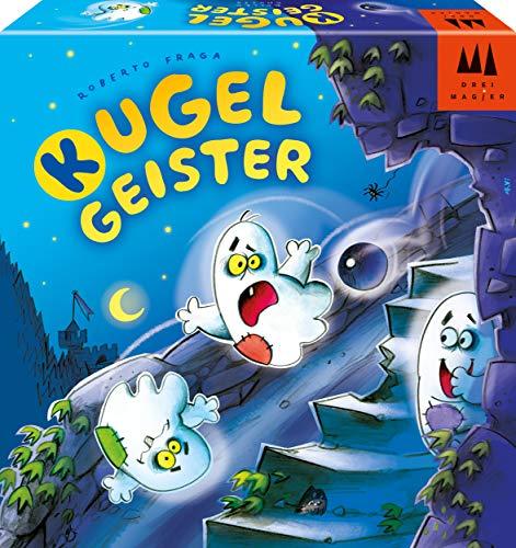 Schmidt Spiele 40887 Kugelgeister, DREI Magier Kinderspiel, bunt
