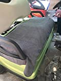 Dr.Acces Golf Cart Seat Cover | Golf Cart Seat Blanket Fit All Golf Cart Dark Gray