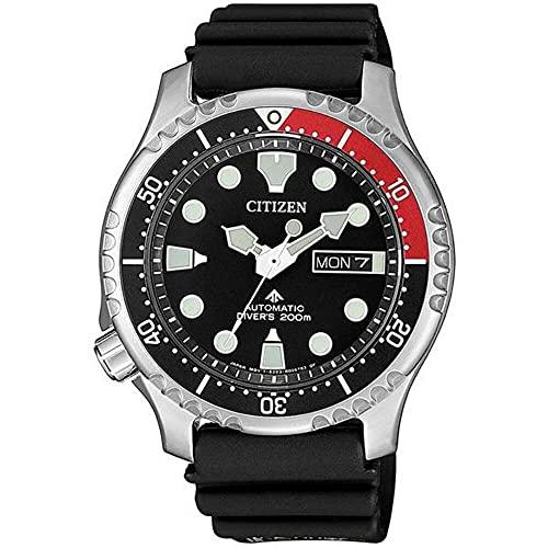 Citizen Promaster Automático Diver 200 Hombre Correa Caucho NY0085-19E