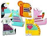 4M Animales para bordar – Embroidery Animal Cards juegos...