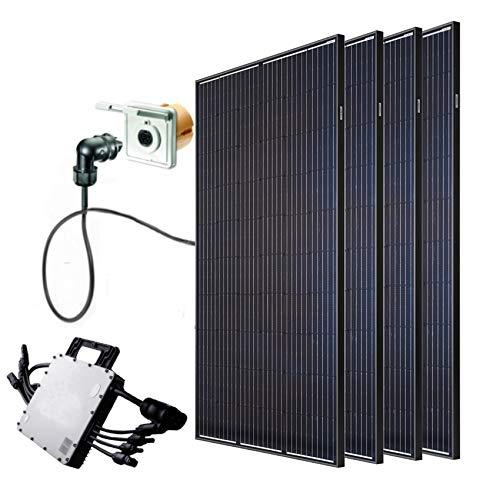 Minisolar | Balkonsolar | 1200 Watt | inkl. Einspeisesteckdose