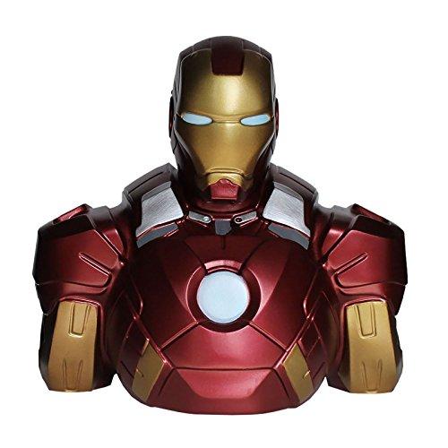 Elbenwald BBSM002 Marvel Comics Spardose Iron Man 22 cm