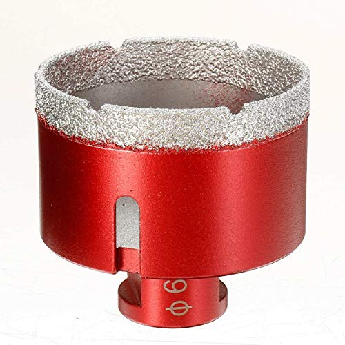 Farleshop 1 UNID M14 bit bit de Taladro de cerámica de Porcelana 40-68mm para Granito Mármol de ladrillo Concreto Diamante Revestido bits de perforación bits de Orificio Sierra cortadora