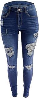 Jeans casual da donna Jeans Stretch Stretch Skinny Denim Pantaloni in denim Leggings