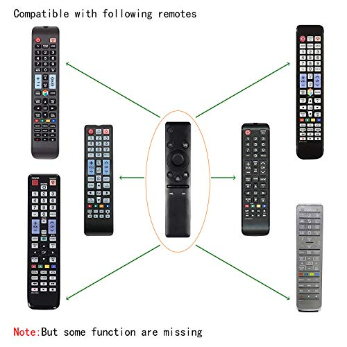 Newest BN59-01260A Universal Smart TV Remote Replaced Samsung BN59-01260A BN59-01259B BN59-01259D BN59-01259E BN59-01241A BN59-01266A
