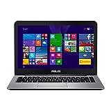 Asus Vivobook E403NA-GA016T PC portable 14' Gris Métal (Intel Pentium, 4 Go de RAM, eMMc 128 Go, Windows 10) Clavier...
