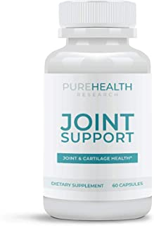 Joint Support Supplement by PureHealth Research (Non-GMO) Promotes Healthy Flexibility, Immune Response - 