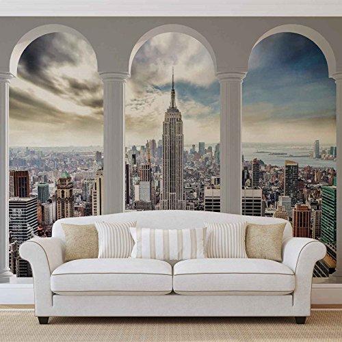 Papier Peint Décor ForWall NEW YORK CITY AF2345VEXXL (312cm x 219cm) Murale Art Image