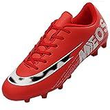 LIANNAO Zapatos de Fútbol Hombre Spike Aire Libre Profesionales Atletismo Training Botas de Fútbol Ligero Tacos Futbol Zapatos de Deporte 35-45EU